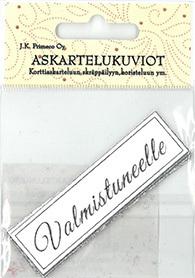 JK Primeco: Valmistuneelle hopea  - leikekuviopakkaus