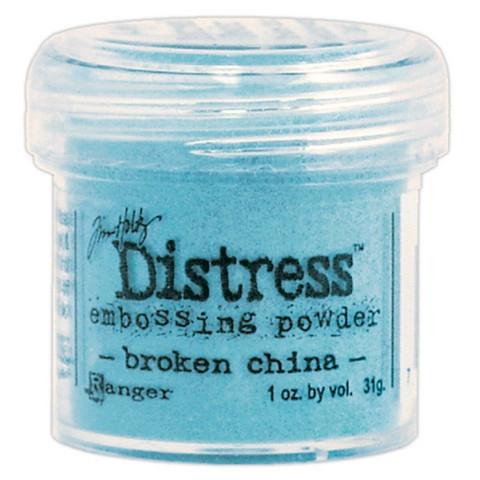 Ranger Distress Embossing Powder: Broken China  34ml