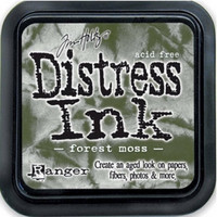 Distress Ink: Forest Moss -mustetyyny