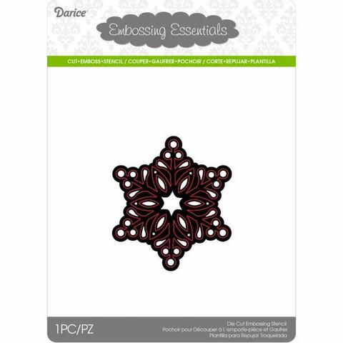 Darice: Snowflake Small - stanssi