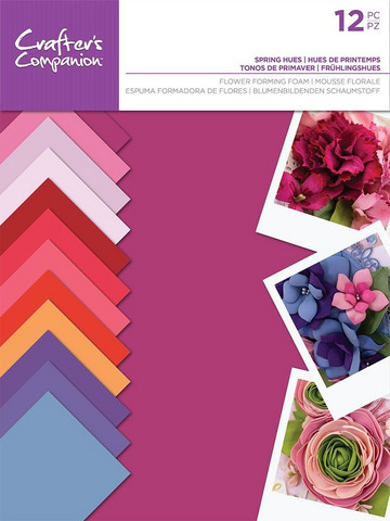 Crafter's Companion Flower Forming Foam: Spring Hues