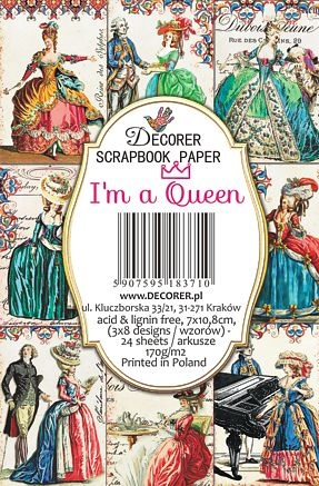 Decorer: I'm A Queen - minipaperisetti