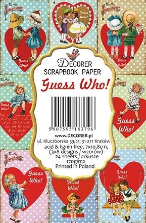 Decorer: Guess Who!  - minipaperisetti