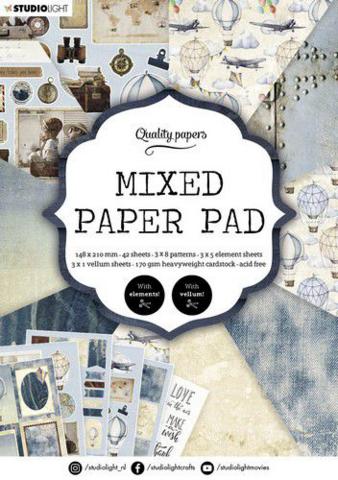 Studio Light A5  Mixed Paper Pad #162 - paperikko