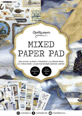Studio Light A5  Mixed Paper Pad #159 - paperikko