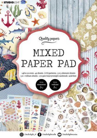 Studio Light A5  Mixed Paper Pad #7 - paperikko
