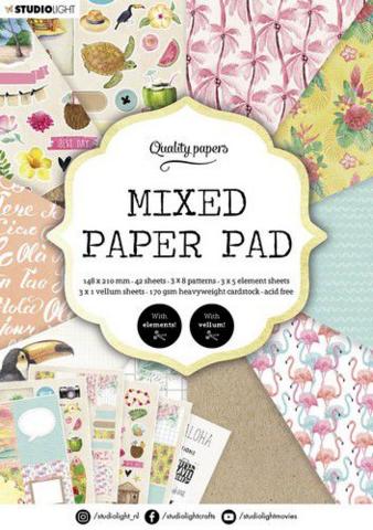 Studio Light A5  Mixed Paper Pad #6 - paperikko