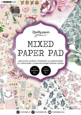 Studio Light A5  Mixed Paper Pad #8 - paperikko