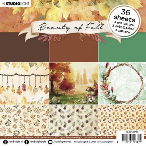 Studio Light: Beauty of Fall #13  -paperilehtiö