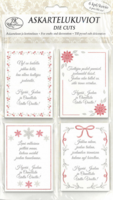 Primeco: Jouluntoivotukset punainen  - leikekuviopakkaus