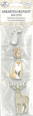 JK Primeco: Pohjolan eläimet - leikekuviopakkaus