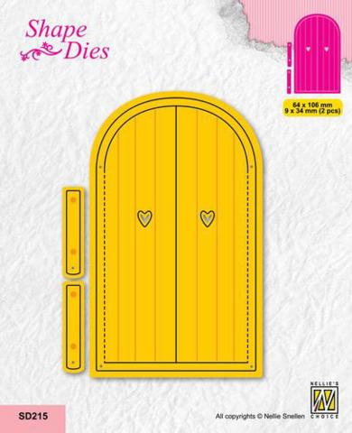 NC Shape Dies: Door - stanssisetti