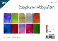 Joy Crafts: Holographic Assortment A4 - peilikartonkipakkaus