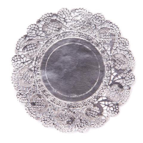 DP Craft Doilies: Silver - kakkupaperit