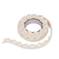 DP Craft Adhensive Cotton Lace: Ecru