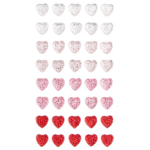 Adhensive Stones: Hearts