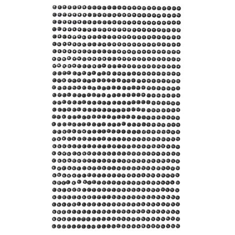 DP Craft Adhesive Stones : Black 3mm