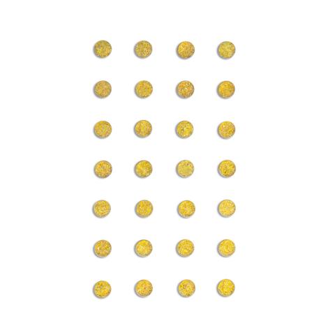 DP Craft Adhensive Stones 8 mm :  Gold