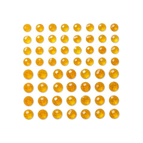 DP Craft Adhensive Glitter Stones : Gold