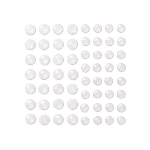 DP Craft Adhensive Stones :  Crystal