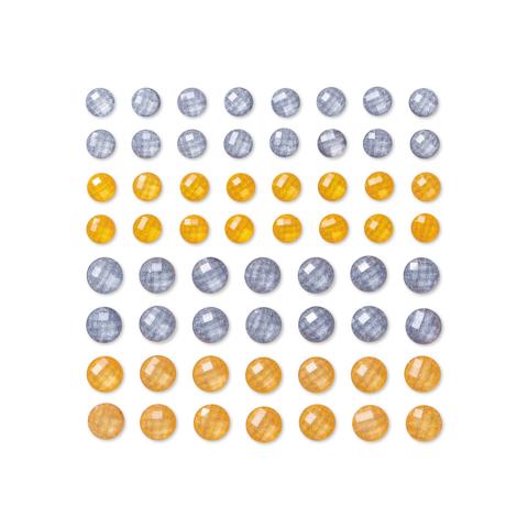 DP Craft Adhensive Stones :  Gold & Silver