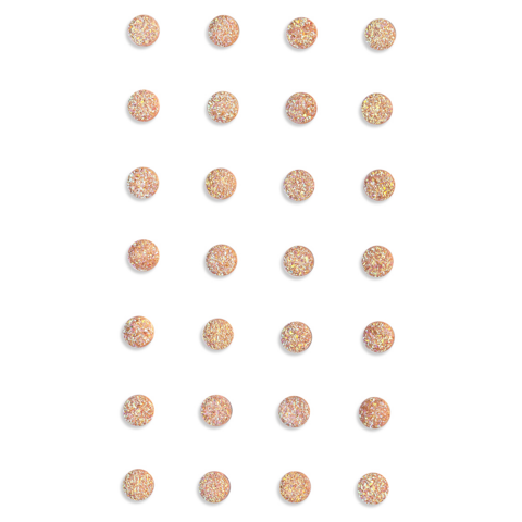 DP Craft Adhensive Stones :  Light Pink 8mm