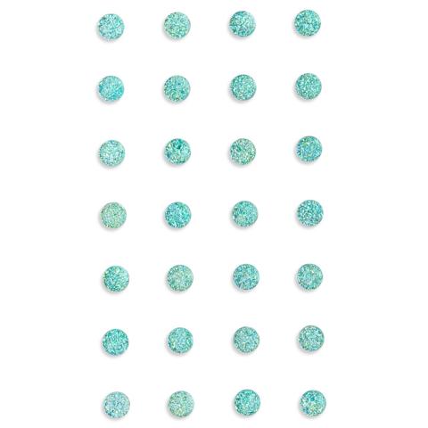 DP Craft Adhensive Stones :  Mint 8mm