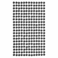 DP Craft Adhesive Pearls : Black 6 mm