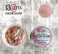 13arts Color Glow Metallic Watercolor : Rose Quartz 10g - jauhevesiväri