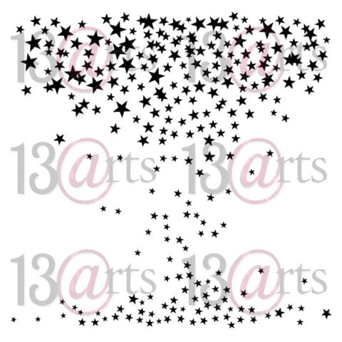 13arts: Starry Sky 6 x 6 -sabluuna