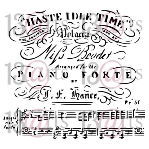 13arts: Piano Forte 6 x 6 -sabluuna