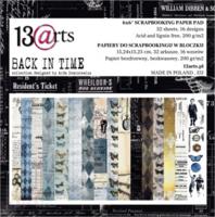 13arts: Back In Time 6x6 - paperikokoelma