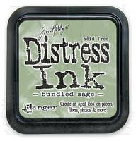 Distress Ink: Bundled Sage -mustetyyny