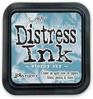 Distress Ink: Stormy Sky  -mustetyyny
