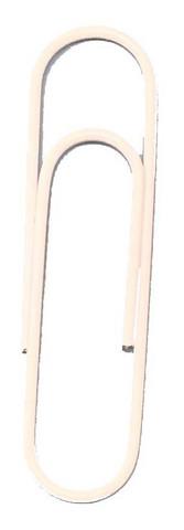 Jättiklemmari 6 kpl - valkoinen