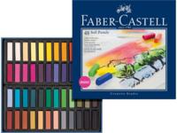 Faber-Castell Soft Pastel Crayons Mini Set 48 kpl - kuivapastelliliidut