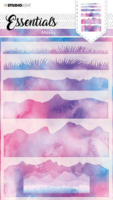 Studio Light Essentials: Layered Hills Background #31 A5 -sabluuna