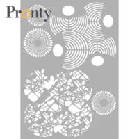 Pronty:  Layered Circles A4 -sabluuna