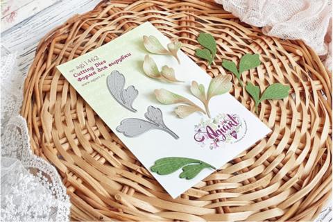 Agiart: Boxwood Leaves (Puksipuu)  -stanssisetti