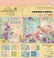 Graphic45: Fairie Wings 8x8 - paperikokoelma