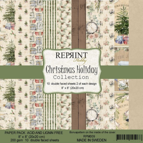 Reprint: Christmas Holiday 8x8 - paperikokoelma