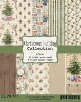 Reprint: Christmas Holiday 6 x6 - paperikokoelma