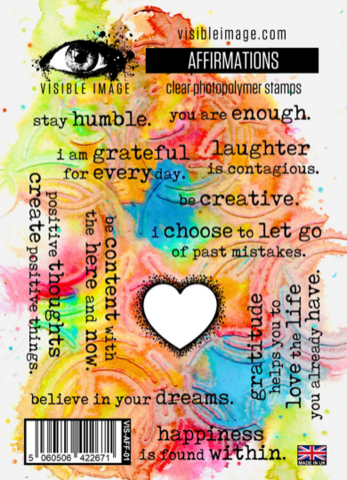 Visible Image: Affirmations A6 -leimasinsetti