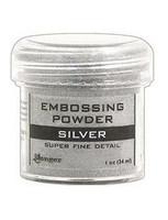 Ranger Embossing Powder: Silver Superfine Detail 34ml