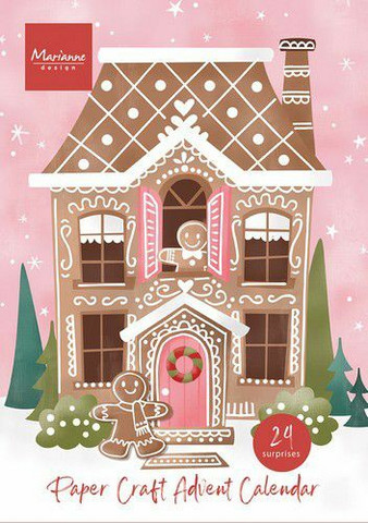 MD Advent Calendar 2021-  paperiaskartelijan joulukalenteri