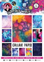 Studio Light Art by Marlene: Collage Paper 14 -lehtiö