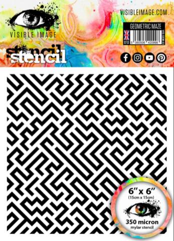 Visible Image: Geometric Maze 6x6 - sabluuna