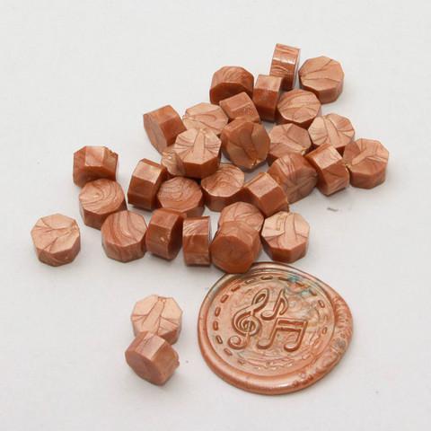 DIY & Cie Wax Beads: Rose Gold 35 g - sinettivahahelmet