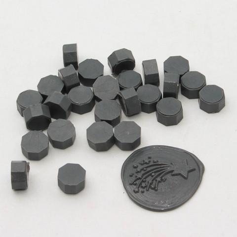 DIY & Cie Wax Beads: Grey 35 g - sinettivahahelmet
