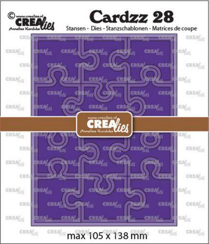 Crealies Cardzz: Puzzle - stanssisetti